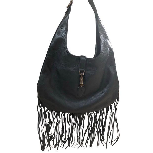 6d9deae1b Jackie Nouveau Fringe Hobo Bag by GUCCI | StyleTribute.com