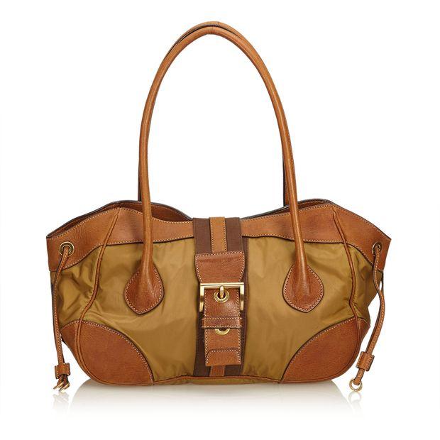 f1cccb28a724 Nylon Shoulder Bag by PRADA
