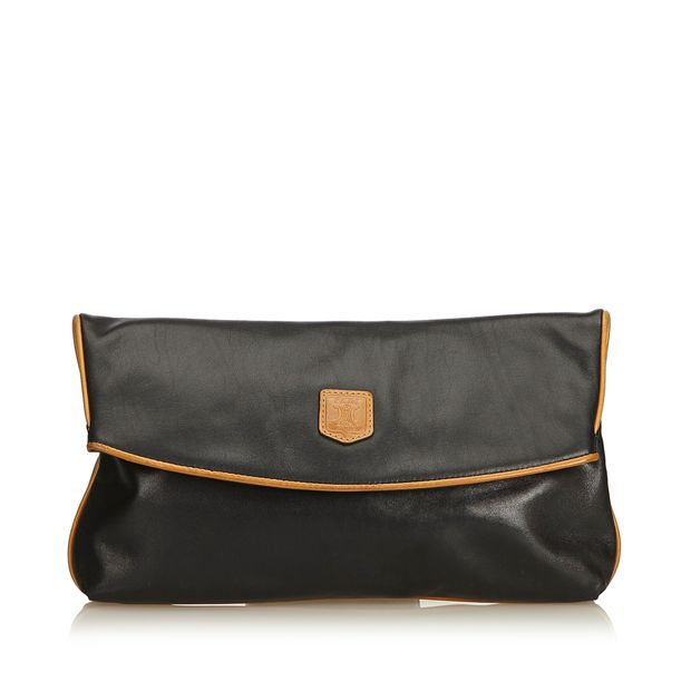 399442af15e3c Leather Clutch Bag by CELINE | StyleTribute.com
