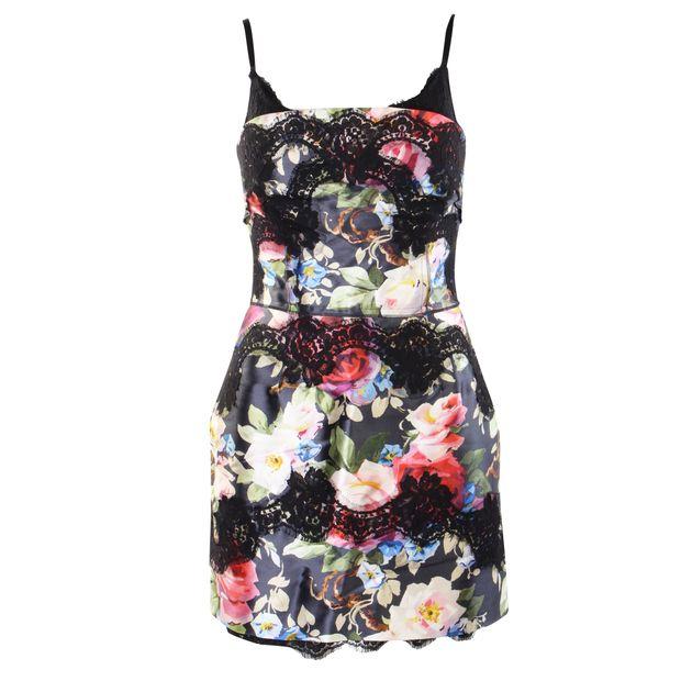 df5cc533 Lace Embellished Dress by DOLCE & GABBANA | StyleTribute.com