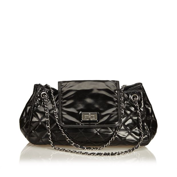 82e835e92b19 Patent Leather Reissue Accordion Flap Bag by CHANEL