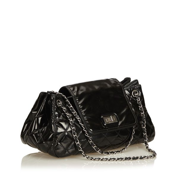 7dd2b951f910 Patent Leather Reissue Accordion Flap Bag by CHANEL | StyleTribute.com
