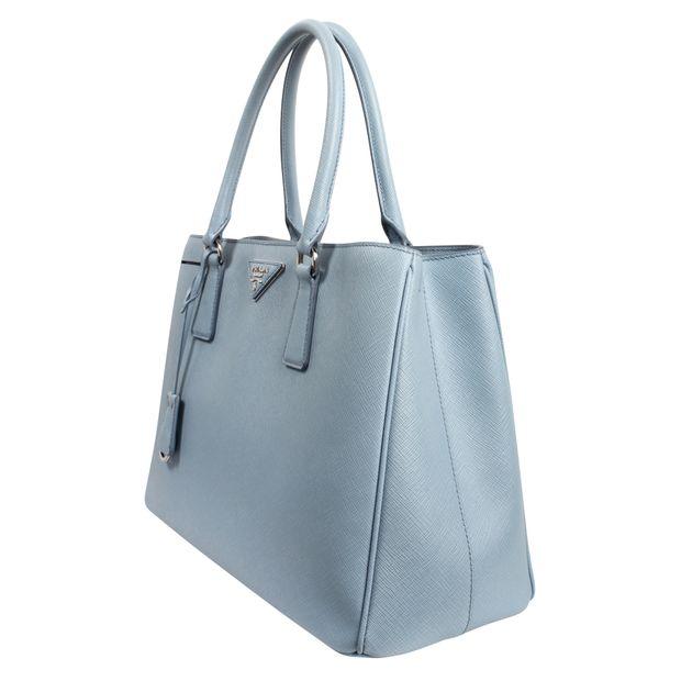 6fb3cd51eb19 Galleria Leather Satchel by PRADA | StyleTribute.com
