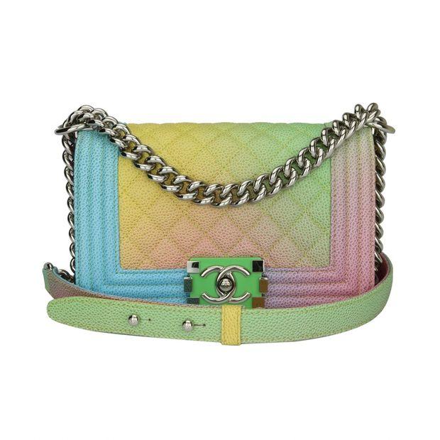 dfb1ddc384e648 Chanel Small Rainbow Boy bag by CHANEL | StyleTribute.com