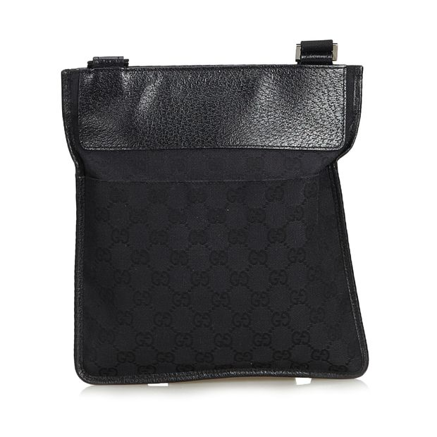 82b1d6bd70b836 Guccissima Jacquard Crossbody Bag by GUCCI | StyleTribute.com