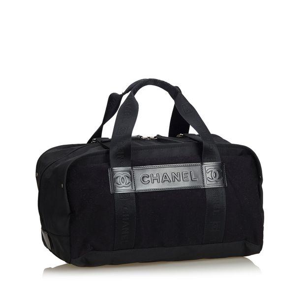 1659fd1fd70 CHANEL Nylon Sports Line Duffle Bag 1 thumbnail