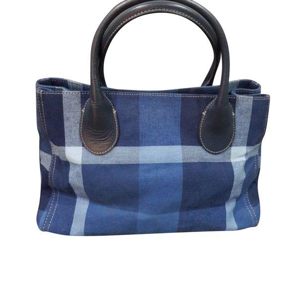 702c3ea64338 Blue Label Crestbridge HandBag by BURBERRY BLUE LABEL