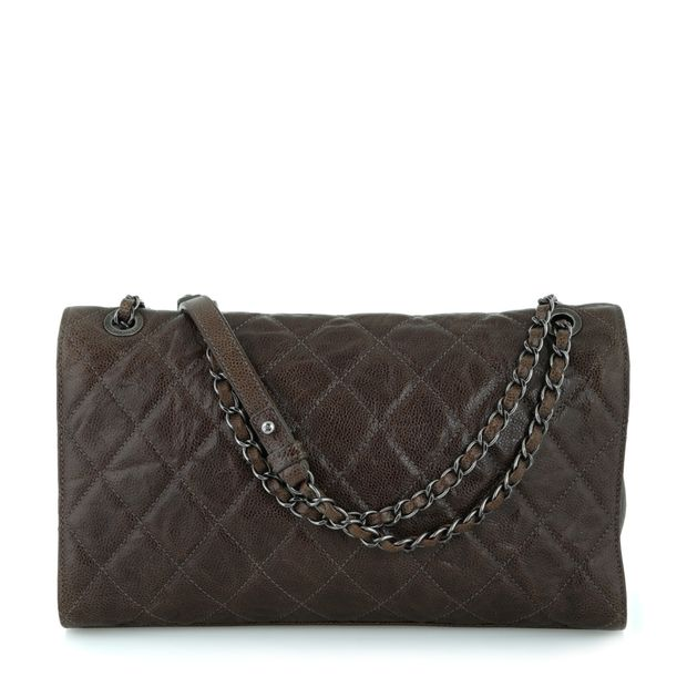 771e9b98cd72b9 CHANEL Quilted Single Flap Bag - Paris/Dallas Collection 1 thumbnail