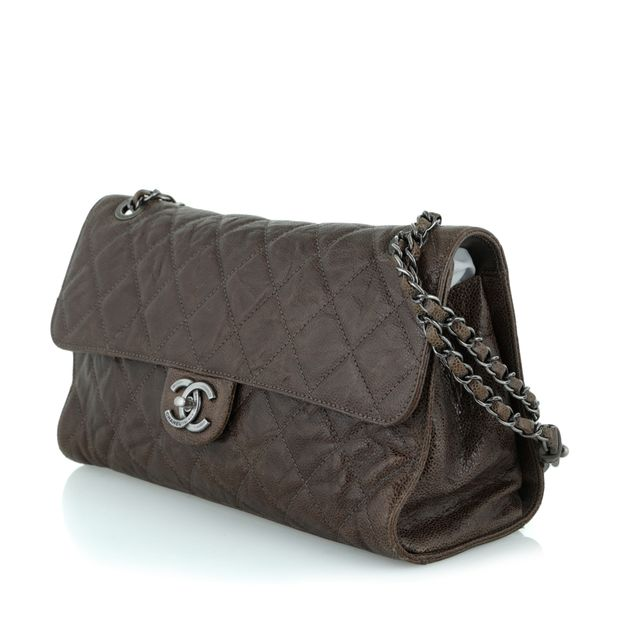 16331d3be6c1e7 CHANEL Quilted Single Flap Bag - Paris/Dallas Collection 2 thumbnail