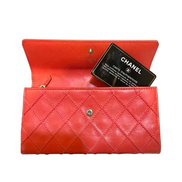 e8fd56ae46cf Chanel Red Leather Reissue Continental Wallet nextprev prevnext Source ·  Chanel wallet by CHANEL StyleTribute com