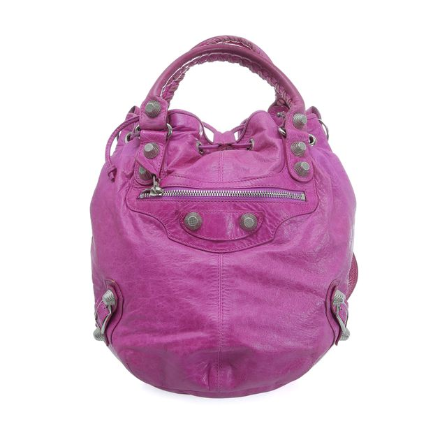 42e4fb7b8b Pompon Bag by BALENCIAGA | StyleTribute.com