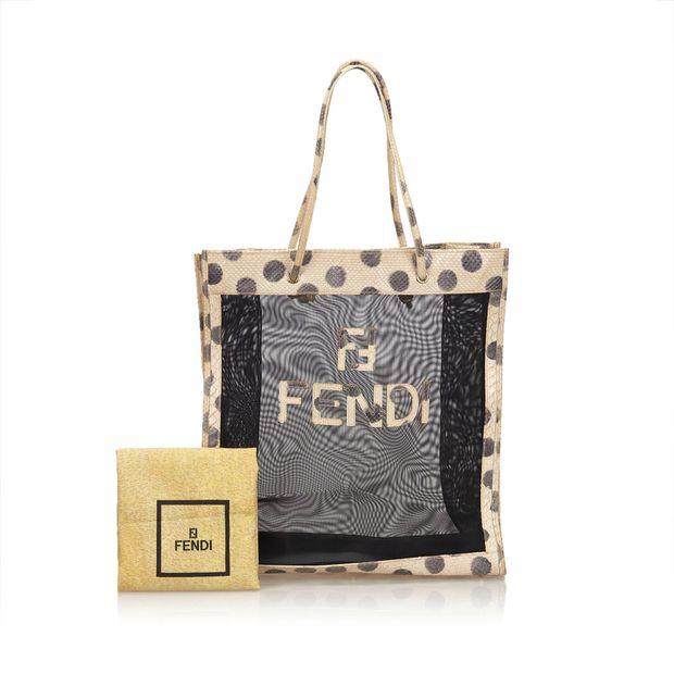 Mesh Tote bag by FENDI  a078cee247584