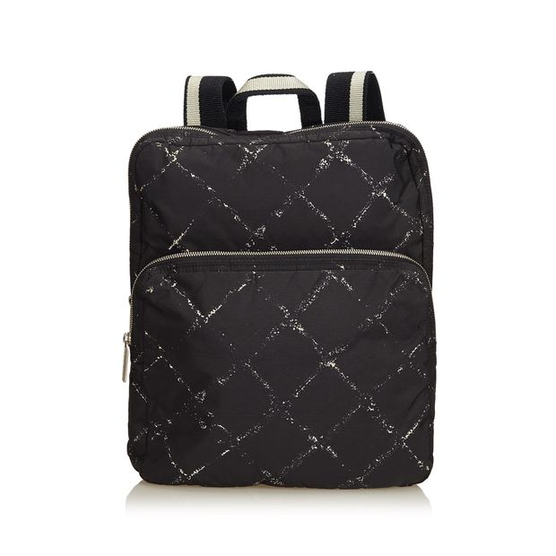 1c9a764bf719 Old Travel Line Backpack by CHANEL | StyleTribute.com