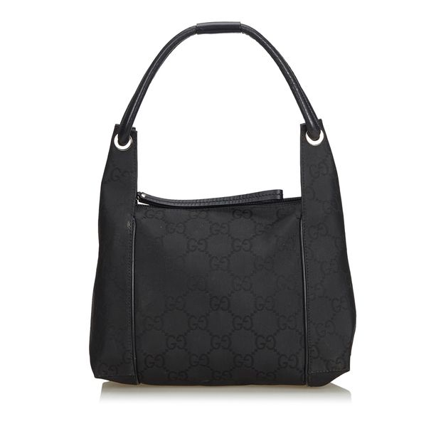 18360dc4e GG Jacquard Handbag by GUCCI | StyleTribute.com