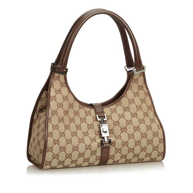 58c6a65e0f4 GUCCI Jacquard GG Jackie Shoulder Bag 1 thumbnail