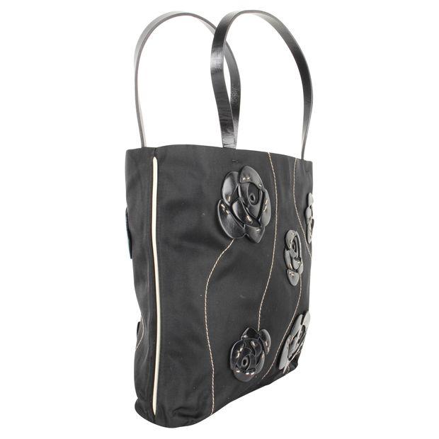 f9315d1cd3d7c8 Black Mini Handbag by PRADA | StyleTribute.com