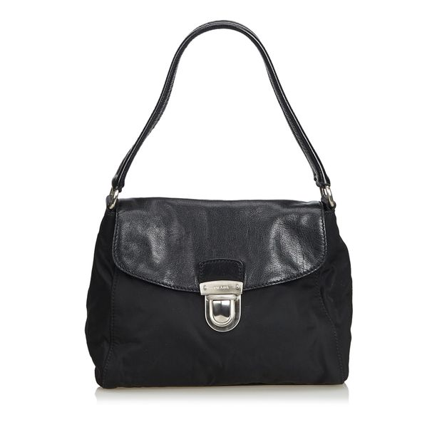 d80423cf2d920d Nylon Shoulder Bag by PRADA | StyleTribute.com