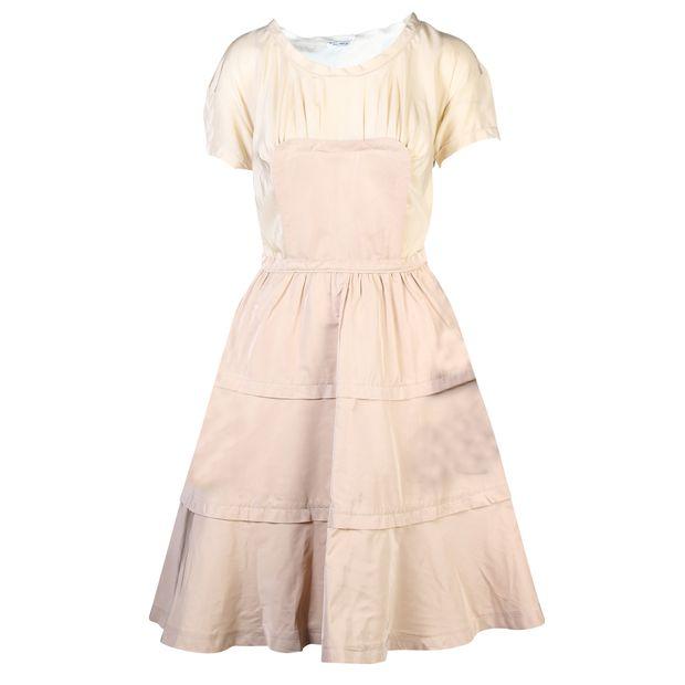 add390f885a9d MIU MIU Colour Block Silk Dress 0 thumbnail