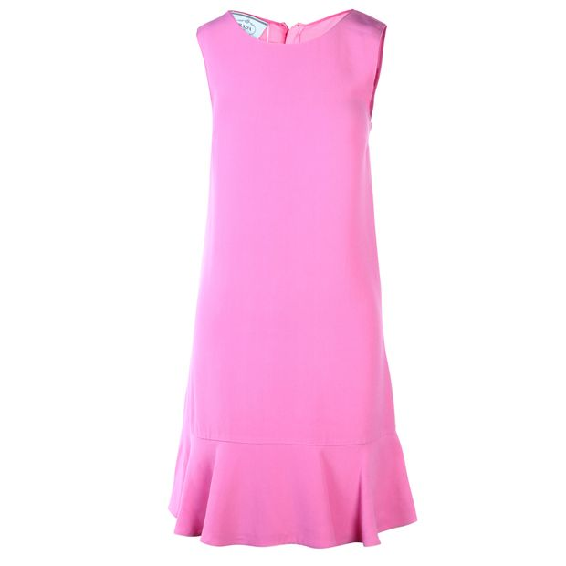 a72366f0de7 PRADA Fuchsia Tube Dress 0 thumbnail