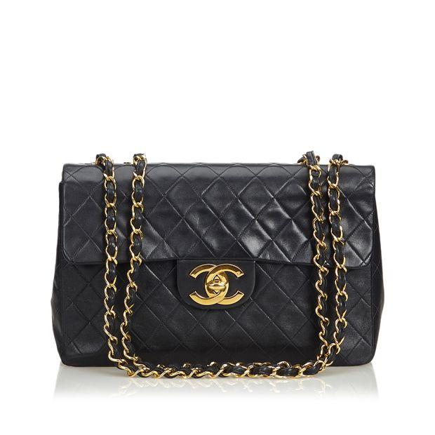 54fe4fa0e86a Classic Maxi Lambskin Leather Single Flap Bag by CHANEL ...