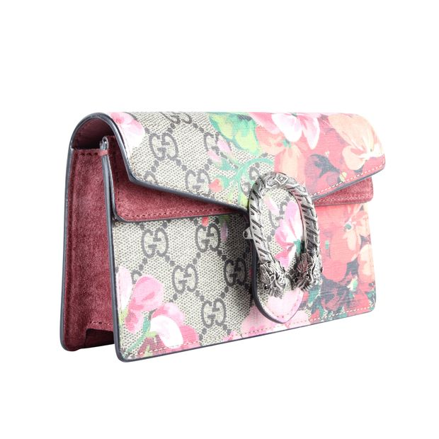 31bf9a8f30c9 Dionysus GG Blooms Super Mini Bag by GUCCI | StyleTribute.com