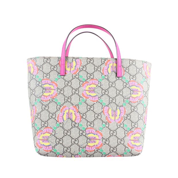b65b47f97207 GG Supreme Butterfly Mini Tote Bag by GUCCI | StyleTribute.com