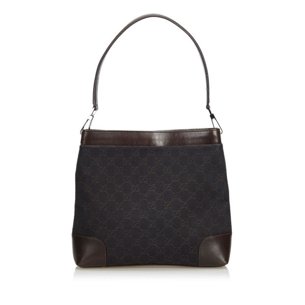 4127d2b21 GG Canvas Shoulder Bag by GUCCI | StyleTribute.com