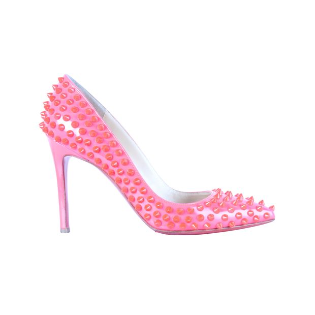 afbce0437a4b CHRISTIAN LOUBOUTIN Follies Spikes Pumps 0 thumbnail