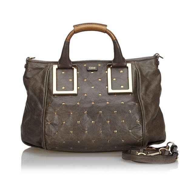 fa47657e16 Leather Ethel Satchel by CHLOÉ | StyleTribute.com