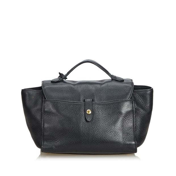 944393acdde7 Vitello Daino Leather Satchel by PRADA | StyleTribute.com