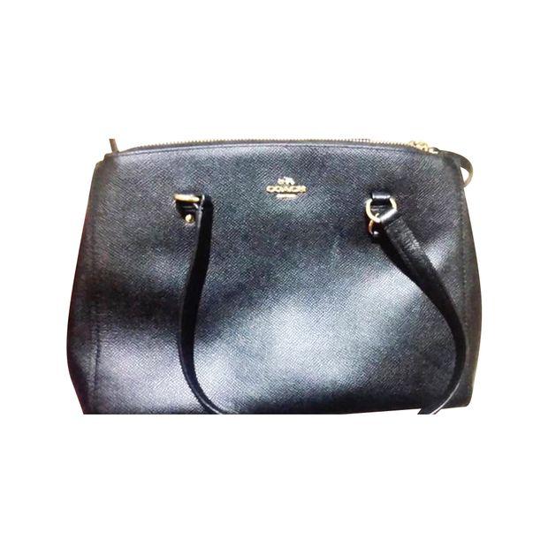 e9e4a656 Coach crossgrain leather Christie carryall crossbody handbag