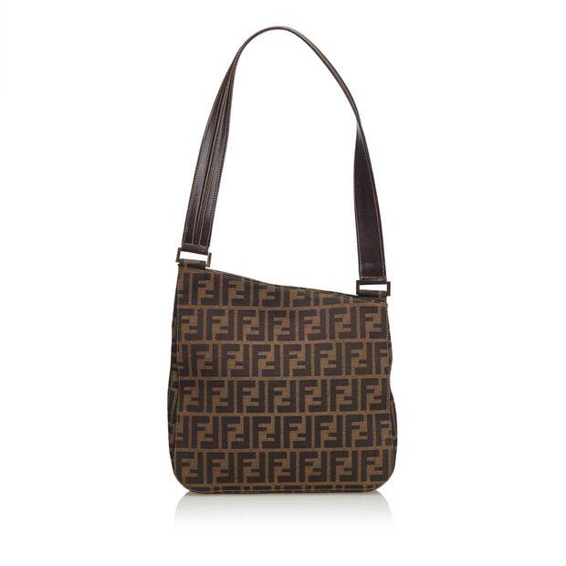 779eb4f74981 Zucca Canvas Shoulder Bag by FENDI