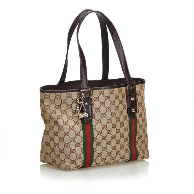 6fcb13841716 GG Jacquard Jolicoeur Tote Bag by GUCCI | StyleTribute.com