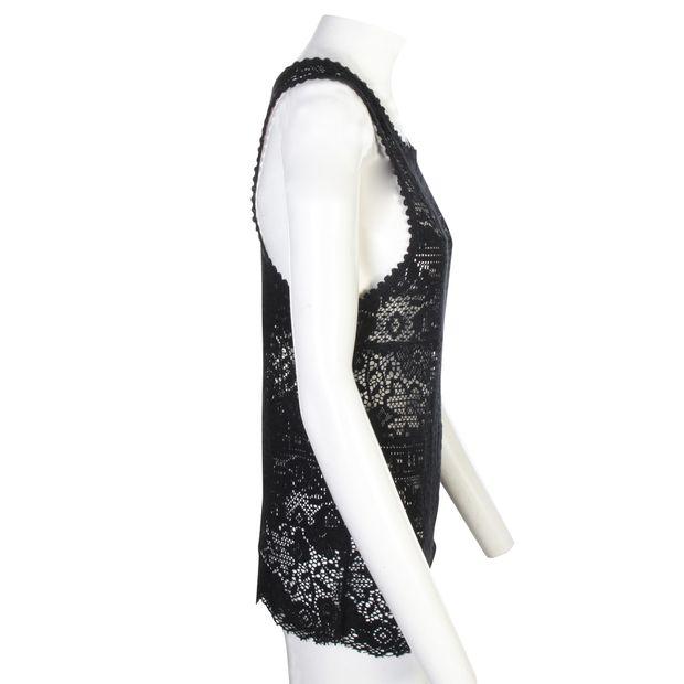 dfb578d8b69 ISABEL MARANT ETOILE Black Crochet Top 0 thumbnail