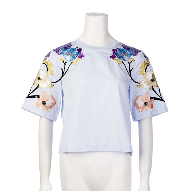 76af00f9547e39 Embroidered Blouse by 3.1 PHILLIP LIM | StyleTribute.com