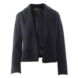 0320caac3 DONNA KARAN. Black Sequins Jacket