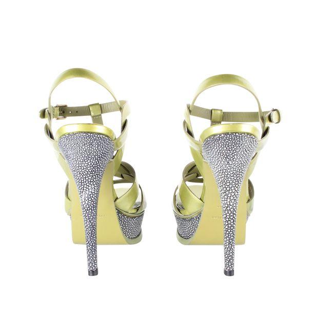 534603b69df YVES SAINT LAURENT Tribute Platform Sandals 0 thumbnail
