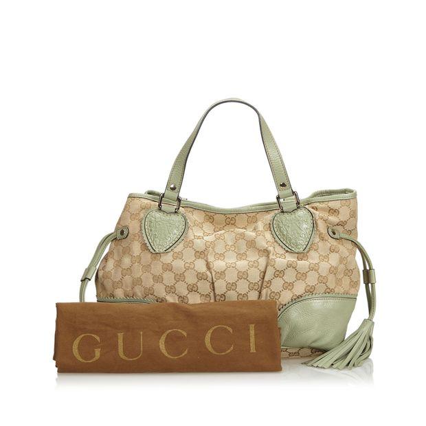 a0d155cd5bfd7b GG Tribeca Jacquard Tote Bag by GUCCI | StyleTribute.com