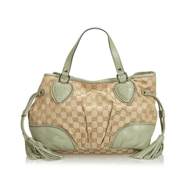 af877dc388 GG Tribeca Jacquard Tote Bag by GUCCI | StyleTribute.com