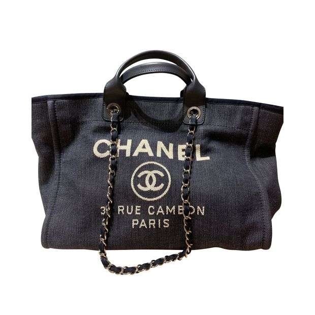 0b3d83383f7a Deauville large tote bag by CHANEL