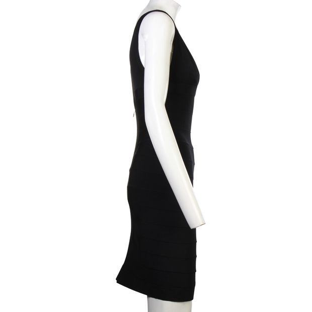 f96603a78c855 Black Bandage Dress by HERVE LEGER | StyleTribute.com