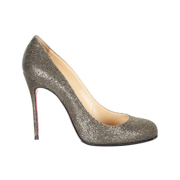 huge discount 97353 23ab3 Glitter York Heels