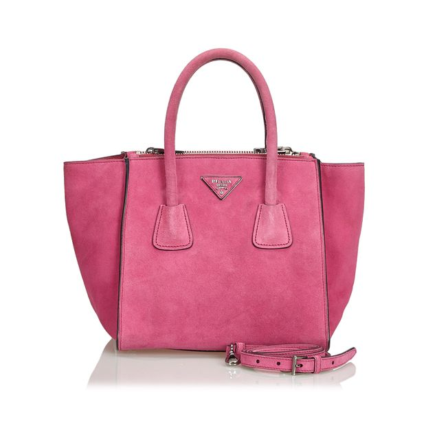 65ffde73c48d Suede City Double Zip Tote by PRADA