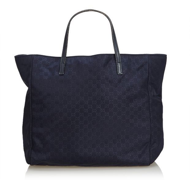 ab8467357f56 GG Nylon Tote Bag by GUCCI   StyleTribute.com