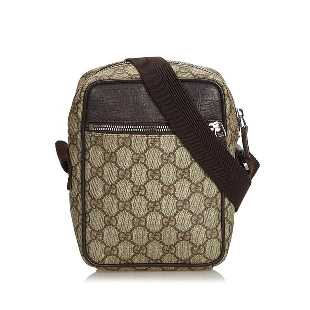 bed0cc628 GG Supreme Crossbody Bag by GUCCI | StyleTribute.com