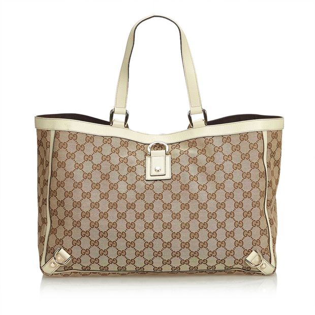 61341329b GG Abbey-D Ring Tote Bag by GUCCI | StyleTribute.com