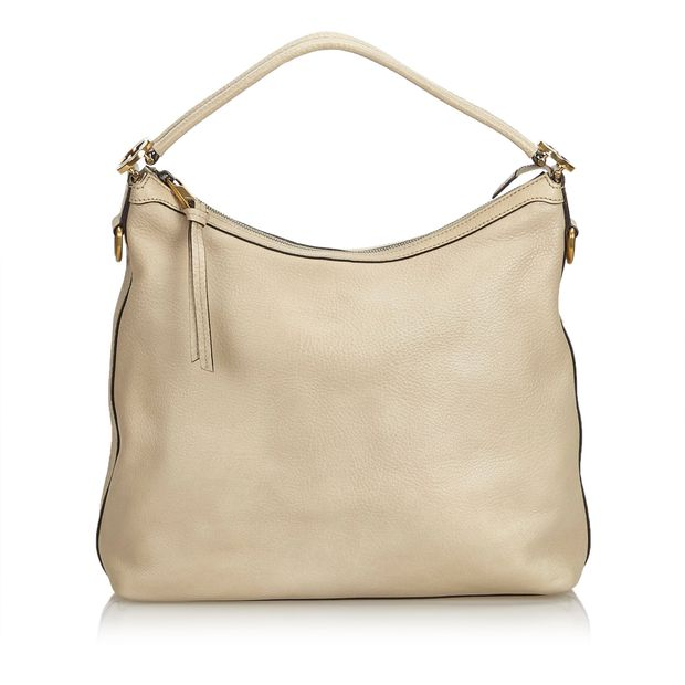 f9c4d9f3289141 Leather Miss GG Shoulder Bag by GUCCI | StyleTribute.com