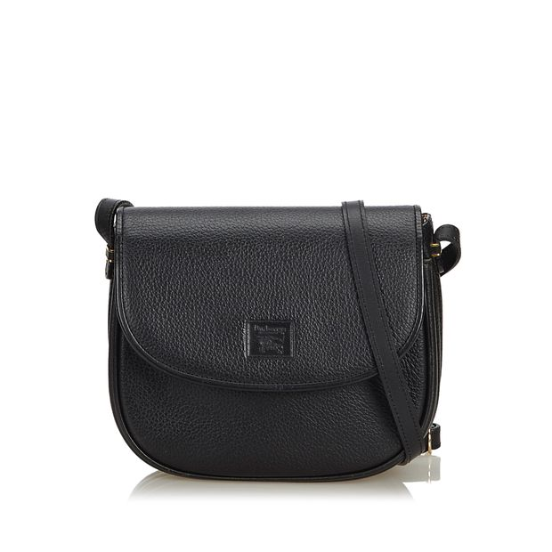 0171dee13f8f Leather Crossbody Bag by BURBERRY