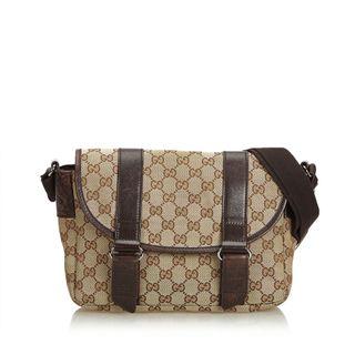 b9bcc426019 GUCCI. GG Jacquard Crossbody Bag