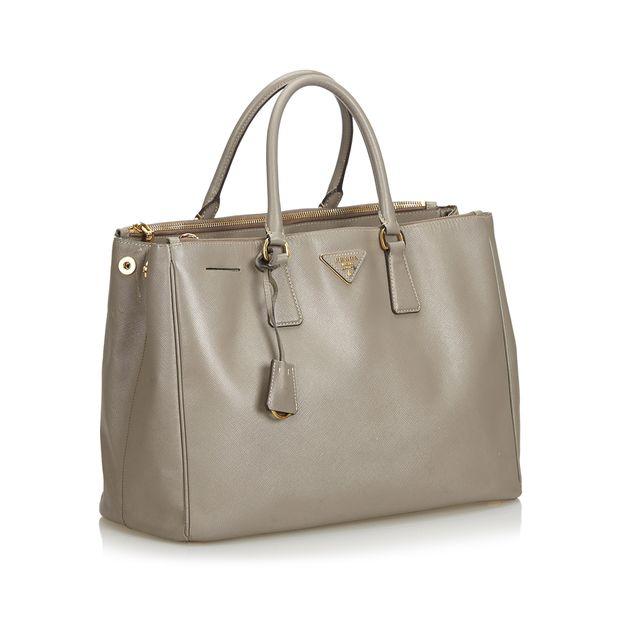 8b7734bd72e4 PRADA Saffiano Leather Galleria Handbag 1 thumbnail